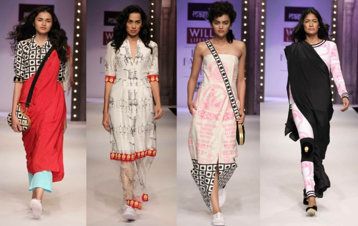 Spring Summer Trends 2014, What to wear, How to wear Prints trend, Appleblossom, Fashion Blogger, Falguni Patel, Indieblogger, Top 10 Fashion Bloggers India, Print dress , Tribal Prints Dress , Style tips, Masaba, Indian prints, Wills Fashion week, prints on Indian Fabric,